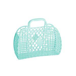 Sun Jellies Retro Basket Small Mint