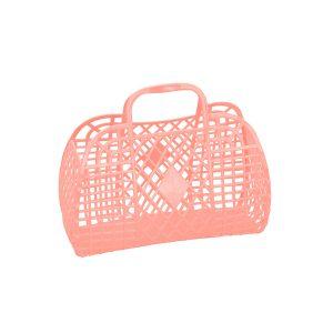 Sun Jellies Retro Basket Small Peach