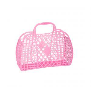 Sun Jellies Retro - Small Neon Pink Translucent